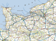 Carte interactive de GéoNormandie sur la Normandie